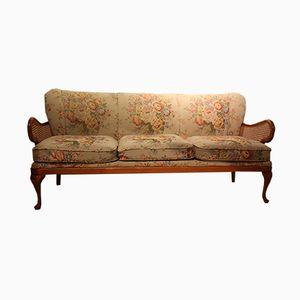 Vintage 3-Sitzer Sofa mit Bezug, 1950er