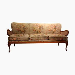 Vintage Upholstered Three-Seater Sofa, 1950s
