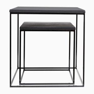 Table Basse Pablo Noire par Kerem Aris pour Uniqka