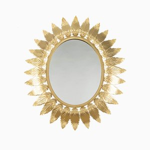 Spanish Sun Shaped Mirror, 1970s