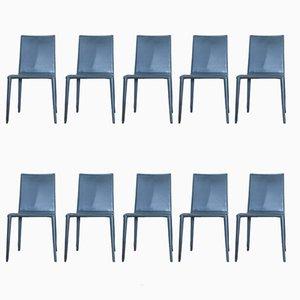 Esszimmerstühle von Arper, 1990er, 10er Set