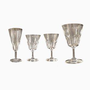 Bicchieri vintage da casinò di Baccarat, set di 47
