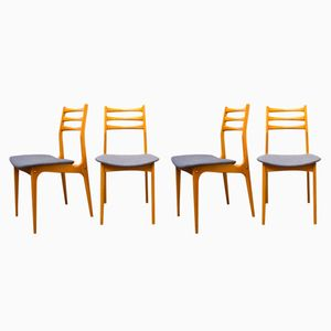 French Side Chairs from Stella, 1960s, Set of 4
