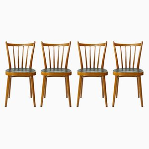 Vintage Chairs from TON, 1970s, Set of 4
