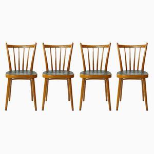 Vintage Stühle von TON, 1970er, 4er Set