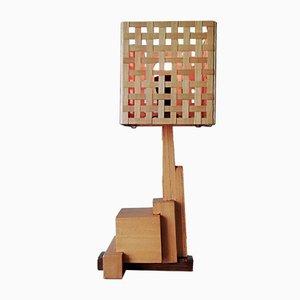 Lámpara de mesa holandesa moderna, años 20