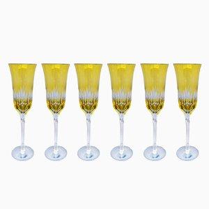 Champagne Flutes, 1970s, Set of 6