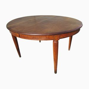 Walnut Extendable Table, 1930s