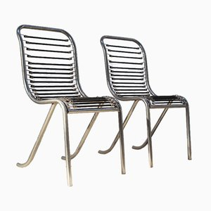 Chairs by Michel Duffet for Ecart International, 1980s, Set of 2