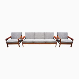 Mid-Century Modern Danish Living Room Set, 1960s