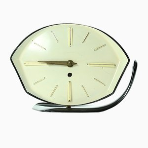 Mid-Century Table Clock in Bakelite from PRIM, 1950s