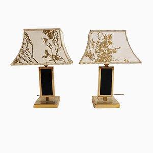 Lámparas de mesa francesas, años 70. Juego de 2