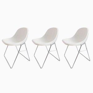 Chaises Minisit par Marco Zanuso pour Elam, 1960s, Set de 3