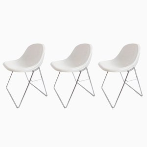 Minisit Chairs by Marco Zanuso for Elam, 1960s, Set of 3