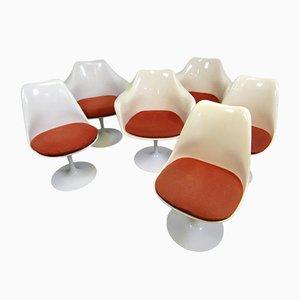 Chaises Tulipe et Petits Fauteuils par Eero Saarinen pour Knoll International, 1960s, Set de 6