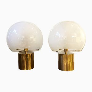 Porcino Table Lamps by Luigi Caccia Dominioni fro Azucena, 1960s, Set of 2