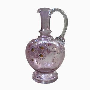 Floral Pitcher by Théodore Legras, 1900s