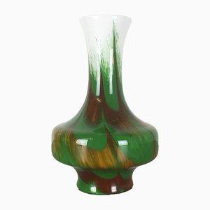 Vaso multicolore di Carlo Moretti per Opaline Firenze, anni '70
