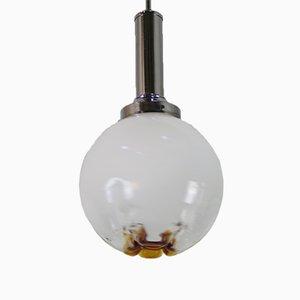 Lámpara de cristal de Murano