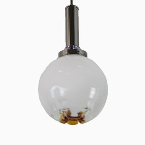 Murano Glass Globe Lamp