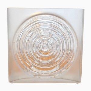 Jarrón de vidrio vintage Haussmann Tray de Alma de Luce