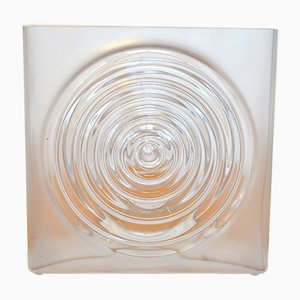 Vintage Glass Vase by Horst Tünselmann for Peill & Putzler