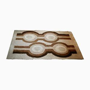 Tappeto con motivo geometrico di Desso, anni '70