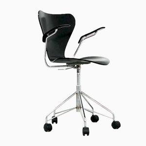 Model 3217 Swivel Chair by Arne Jacobsen for Fritz Hansen, 1980s
