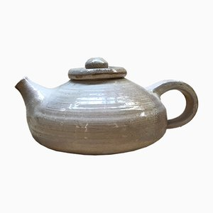 Tea Pot by Jeanne & Norbert Pierlot for Chateau de Ratilly, 1960s