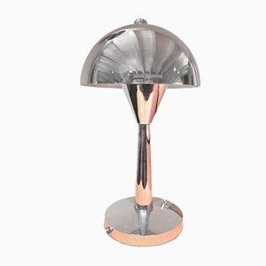 Art Deco Chromed Table Lamp