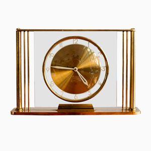 Horloge de Table Mid-Century de Mauthe, 1950s