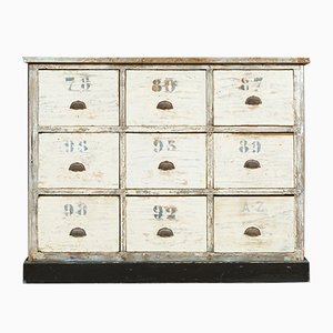 Antique Zinc Apothecary Chest