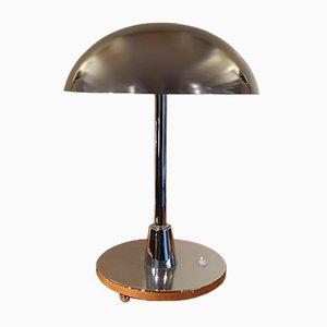Art Deco Lampe aus Chrom, 1930er