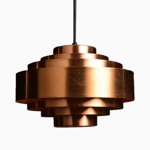 Lámpara de techo vintage de Johannes Hammerborg para Fog & Mørup