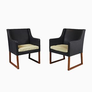 Model 3246 Lounge Chairs by Børge Mogensen for Fredericia, 1963, Set of 2