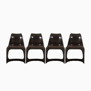 Vintage Chairs by Steen Ostergaard for Cado, Set of 4