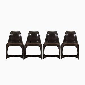 Vintage Stühle von Steen Ostergaard für Cado, 4er Set