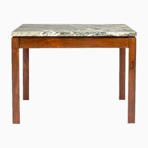 Tavolino da caffè in marmo e palissandro, Danimarca, anni '60