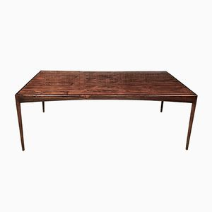 Rosewood Dining Table or Desk by Kristian Vedel for Søren Willadsen, 1960s