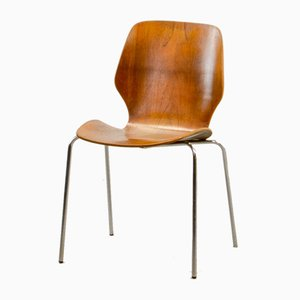 Chaise d'Appoint Mid-Century, Danemark, 1950s