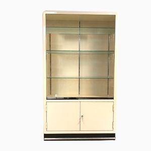 German Metal & Glass Cabinet from Baisch, 1950s