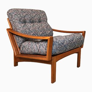 Danish Teak Easy Chair from Glostrup, 1960s