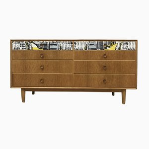 Mid-Century Oak Chest of Drawers from Meredew, 1960s