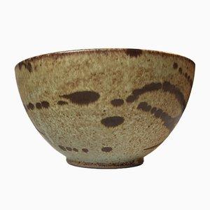 Cuenco danés de cerámica con decorado abstracto de Aage Würtz, años 70