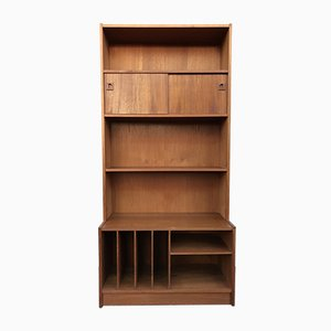 Mid-Century Danish Teak Shelving Unit, 1960s