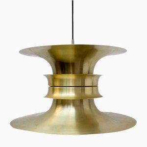 Lámpara de techo danesa de Bent Nordsted para Lyskaer Belysning, años 60