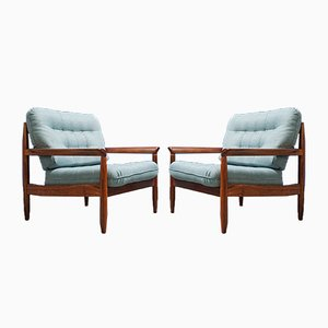Mid-Century Modern Danish Teak Armchair​s, 1960s, Set of 2