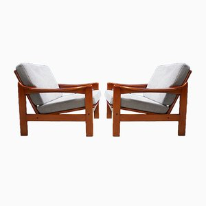Mid-Century Modern Danish Armchair​s, 1960s, Set of 2