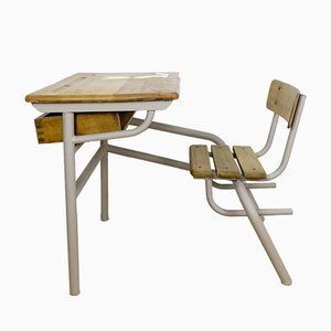 School Bench from Amesco, 1950s