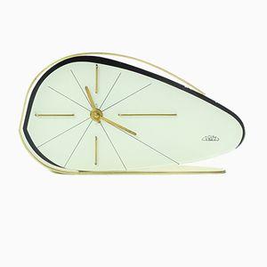 Orologio bianco di Prim, Cecoslovacchia, anni '50